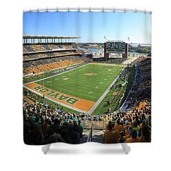 Baylor Gameday No 5 Shower Curtain