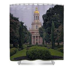 University Tower Shower Curtain