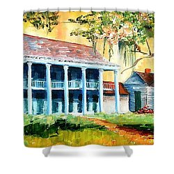 Bayou Country Shower Curtain by Diane Millsap