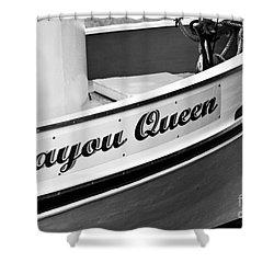 Bayou Queen Shower Curtain by Scott Pellegrin