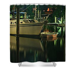 Bayou Reflect Shower Curtain by Tammy Schneider