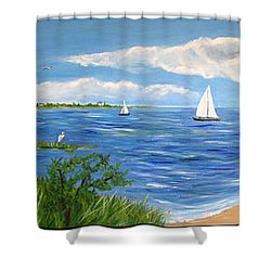 Bayville Trio Shower Curtain