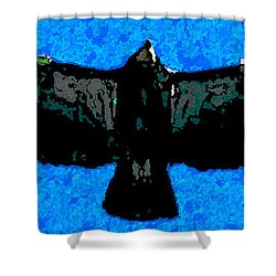 Flight Of The Condor Shower Curtain