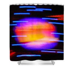 Super Nova Shower Curtain