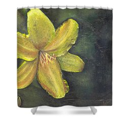 'be A Lily Among Thorns' Shower Curtain