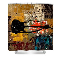 Be A Rock Star Shower Curtain