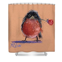 Be Mine Shower Curtain