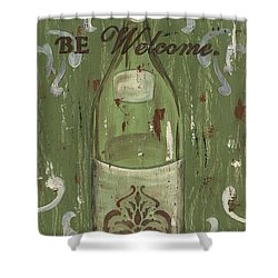Be Our Guest Shower Curtain by Debbie DeWitt