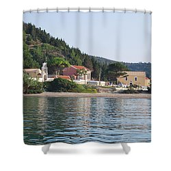 Beach 5 Shower Curtain
