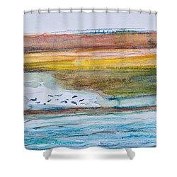 Beach And Sea Shower Curtain
