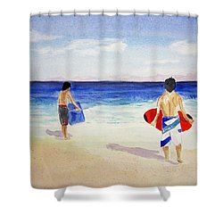 Beach Boys Australia Shower Curtain