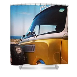 Beach Bug Shower Curtain