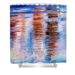 Beach Colors Shower Curtain