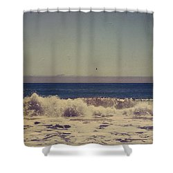 Beach Days Shower Curtain by Laurie Search