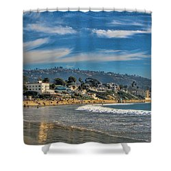 Beach Fun Shower Curtain by Tammy Espino
