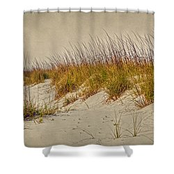 Beach Grass And Sugar Sand Shower Curtain