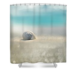 Beach House Shower Curtain by Laura Fasulo