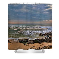 Beach Landscape Shower Curtain