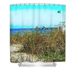 Beach Serenity Shower Curtain