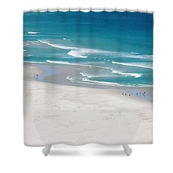 Shower Curtain featuring the photograph Beachscape by PJ Boylan