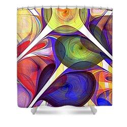 Beacon Shower Curtain by Anastasiya Malakhova