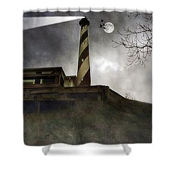 Beacon  Shower Curtain by Brian Wallace