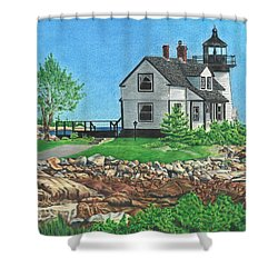 Beacon Of Hope Shower Curtain