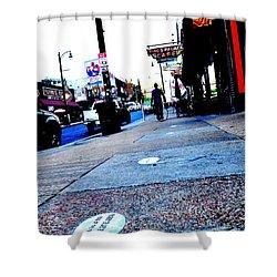 Beale Street Strolling Shower Curtain