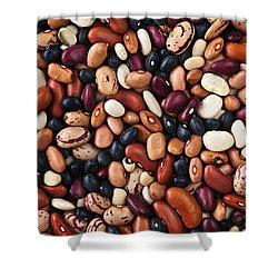 Beans Shower Curtain by Elena Elisseeva