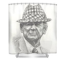 Bear Bryant 3 Shower Curtain