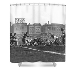 Bears Are 1933 Nfl Champions Shower Curtain by Underwood Archives