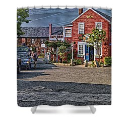 Bearskin Neck Shower Curtain