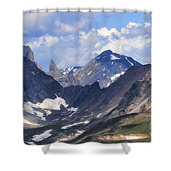 Beartooth Mountain Shower Curtain