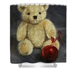 Beary Christmas Shower Curtain