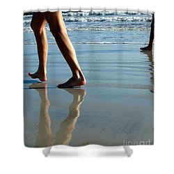 Beat Feet Shower Curtain