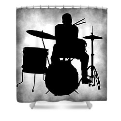 Beat Master Shower Curtain