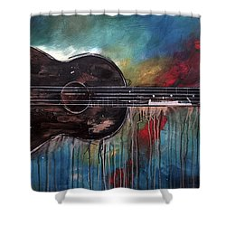 Bob Marley's First Shower Curtain