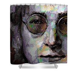 Beatles - John Lennon Shower Curtain