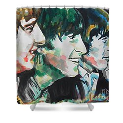 The Beatles 02 Shower Curtain