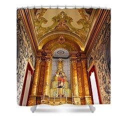 Beautiful Azorean Church Shower Curtain by Gaspar Avila