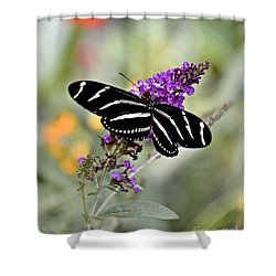 Beautiful Backyard Visitor Shower Curtain