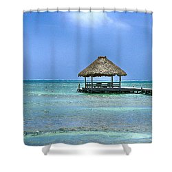 Beautiful Belize Shower Curtain
