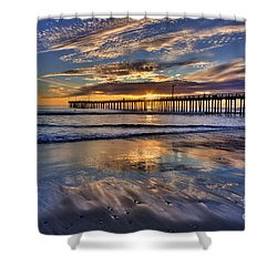 Beautiful Cayucos Shower Curtain