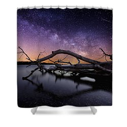 Beautiful Chaos Shower Curtain