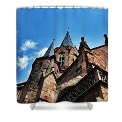 Beautiful Church  Shower Curtain by Daniel Precht
