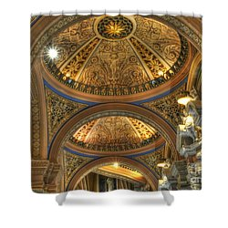 Beautiful Church Shower Curtain by Kathleen Struckle
