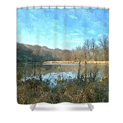 Shower Curtain featuring the photograph Beautiful Day 2 by Sara  Raber