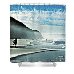 Another Beautiful Day At The Beach Shower Curtain
