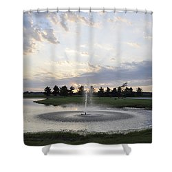 Beautiful Day Shower Curtain by Verana Stark