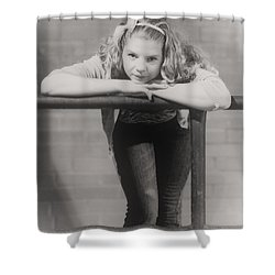 Beautiful Girl Shower Curtain